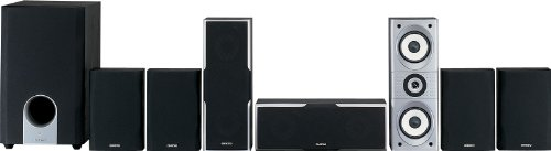 Bass Reflex Center Speaker - Onkyo SKS-HT540 7.1 Channel Home Theater Speaker System
