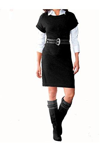 Vivien Caron de mujer vestido vestido de punto para Negro negro