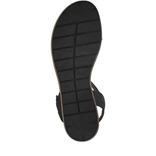 black Para Con Mujer 22 1 Pulsera Sandalia Tamaris Negro 1 28328 1 w0XqvgR