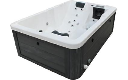 Vasca Da Bagno Per Giardino : Vasa fit vasca da bagno whirlpool per esterni w s colore nero