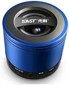 CHAOQIANG PS3300ワイヤレスBluetooth 2.0 USBパワードスピーカー、マルチメディアオーディオスピーカー、コンピュータのオーディオ - ホワイト (Color : Blue)