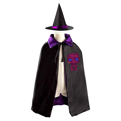 69PF-1 Halloween Cape Matching Witch Hat Sad Mummy