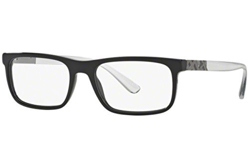Burberry 0BE2240-3001 BLACK -53mm mens at Amazon Men\'s Clothing store: