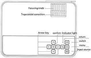 Proyector Interactivo Mini-proyección Portátil Con Interfaz De TV ...