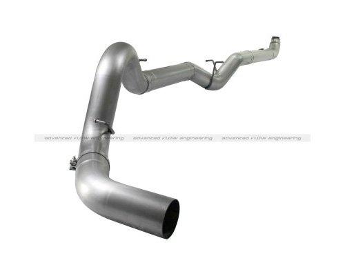 ATLAS 5inch Down-Pipe Back Aluminized Steel Race Exhaust System GMC Sierra 2500 LMM Duramax V8 6.6L 07.5-10
