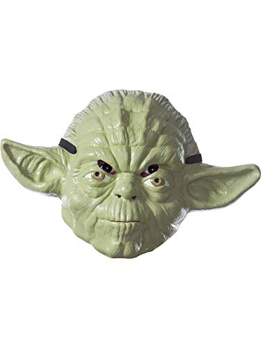 Rubie's Costume Co Unisex-Adults Star Wars Classic Yoda Mask, As Shown, One -