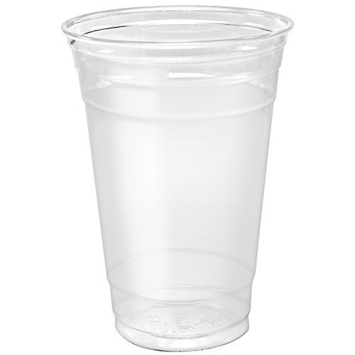 Dart TP20 Plastic 20oz Ultra Clear PET Cold Cups (Case of 600)