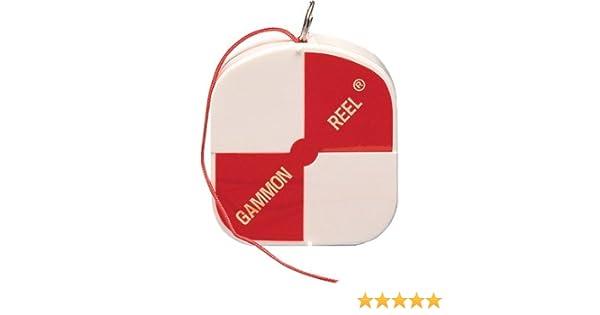 NEW 6.5/' GAMMON REEL White and Orange Target
