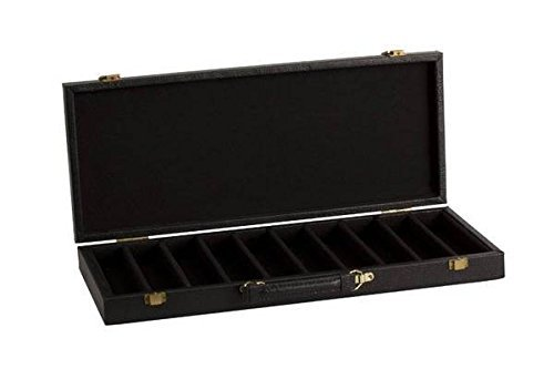 Alligator Leatherette Poker Chip Case (500 Chip Capacity)