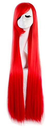 100 cm red wig - 1