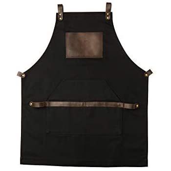 boshiho Adult Painting Aprons Barber Apron with Pockets for Women//Men//Unisex or