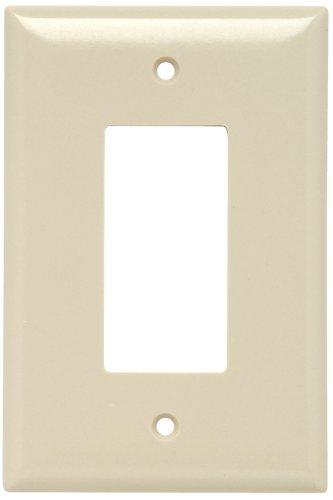 Legrand - Pass & Seymour SPO26IU Plastic Wall Plate Jumbo One Gang Decorator Easy Install, Ivory