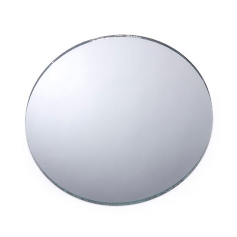 Darice Bulk Buy DIY Crafts Mirror Round 4 inches  1633-84