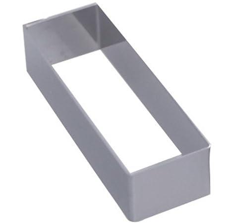 De Buyer 3943.10 - Molde para emplatar repostería (rectangular)