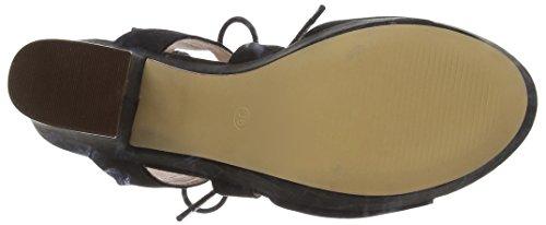 Bronx Women's BjadaX Chunky Heel Sandals Black - Schwarz (01 Black) Y47E96