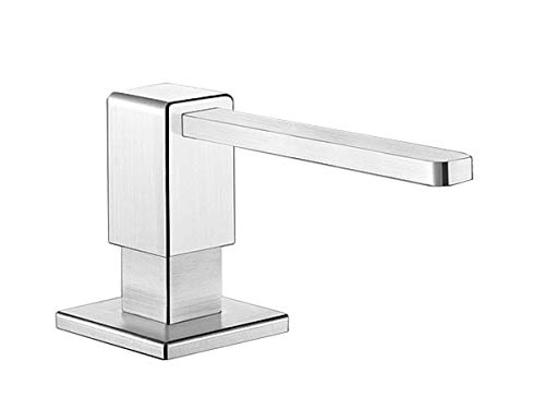 BLANCOLEVOS, soap dispenser, stainless steel satin polish, 517586 by BLANCO (Image #1)
