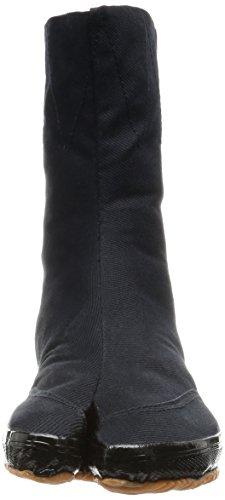 und Japanische Clips Tabi dicker mit Schuhe MARUGO Kaisoku Schwarz Sohle 10 87wxqx5fa