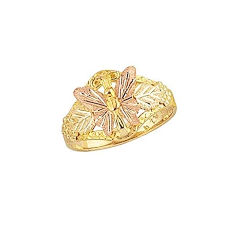 Black Hills Gold Butterfly Ring (5.5)