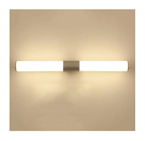 (Yxx max Mirror Front Light Mirror Front Light Modern and Simple Aluminum Acrylic LED Bathroom Wall Lamp (Size :)