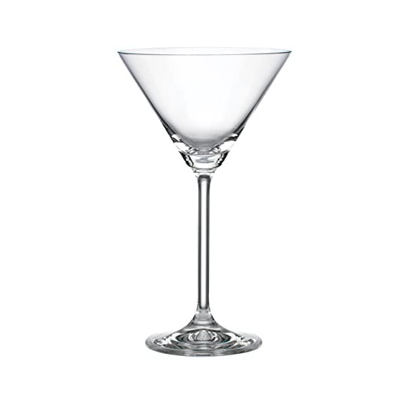 Lenox 845275 Tuscany Classics Martini Glasses, Buy 4, Get 6, clear 1 Material: Glass Capacity of 8 ounces Dishwasher Safe
