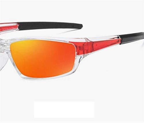 a des FlowerKui de de polarisé recyclage lunettes UV400 La lunettes pêche pour soleil mode la Orange extérieure de protectrices IaIqHxE