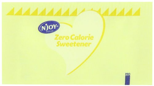 NJoy Calorie Sweetener Sucralose Packets