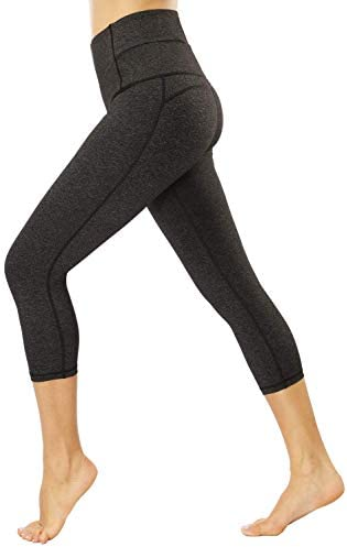 EVELIFE Jogginghose Damen High Waist Sportshose Leggings Mit Tasche Freizeithose Sports Pants Trainingshose F/ür Yoga Fitness Running