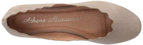 Suede Flat Ballet Athena Alexander Grey Toffy Women's fBqtYBwI0