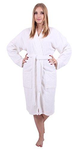 Spa Style Terry Bath Robe - 1