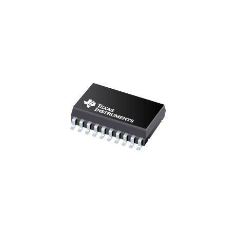 Texas Instruments tlv5610idw Convertisseur numérique vers analogique, 12bits, 283ksps, série, 2,7V à 3,3V, 4,5V à 5,5V, SOIC, 20broches