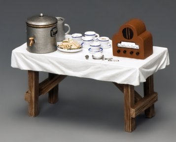 - Tea and Sandwich Table - Battle of Britain - Royal Air Force - King & Country RAF064