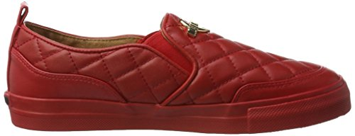 Amare Damen Moschino W.sneakers Pantofola Rot (rosso)