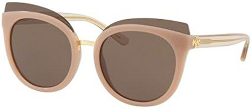 Tory Burch Women's 0TY9049 53mm Blush/Brown Solid - Sunglasses Blush