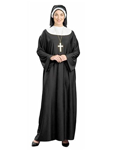 [Nun Plus Size (Plus Size) One Size Fits Most 16W to 24W] (Plus Size Costumes)