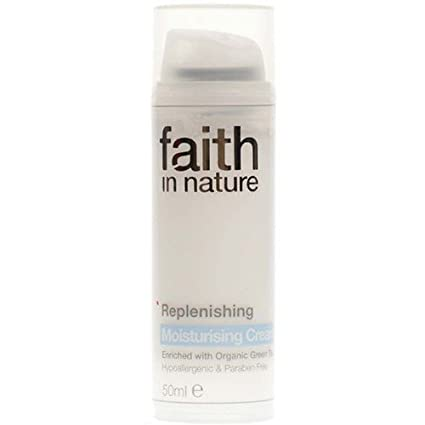 Faith In Nature Replenishing Moisturising Cream Hypoallergenic 50ml Faith Products Ltd 66062