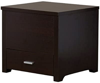 Amazoncom Furinno EXBR Espresso Finish Living Set Center - Espresso finish coffee table set