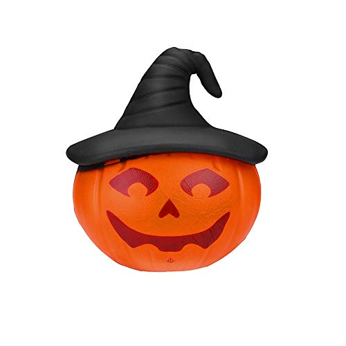 callm Soft Stress Reliever Toys,Squishy Halloween Pumpkin Slow Rising Squeeze Squishies Toys Cure Fun Gifts Decor for Kids Adults (C) -