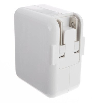 White 2 Port USB Wall Travel Charger 3.1 Amps ( 5 PACK ) BY NETCNA by NETCNA