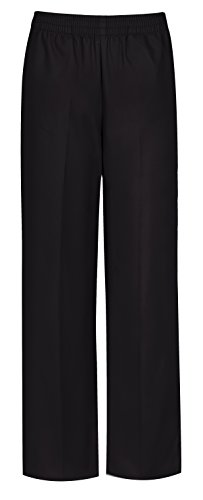 CLASSROOM Big Boys' Uniform Pull-On Pant, Black, 12