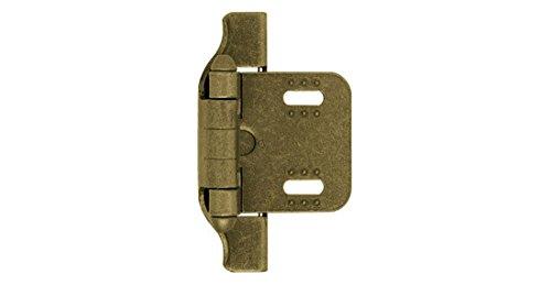 Liberty H01911-AB-A 1/4-Inch 2-Way Adjustable Semi-Wrap Hinge (Wrap Hinge Overlay Semi)