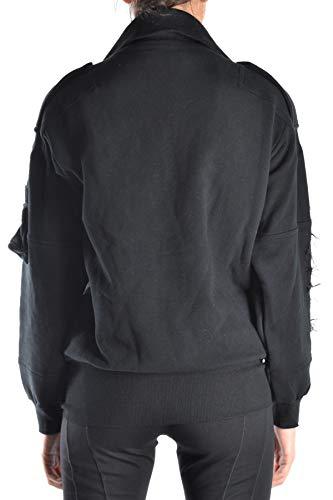 Galliano Mujer Algodon Mcbi15250 Sudadera Negro wanqP0Xvn
