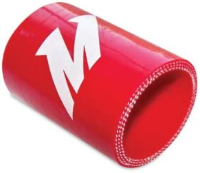 2.5 x 1.25 Mishimoto  MMCP-25125RD Straight Silicone Coupler Red