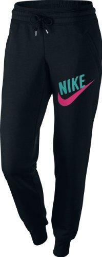 schwarz Nike Pantalones Para Negro Mujer x8q81z