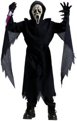 [Collector's Edition Zombie Ghost Face Costume - Medium] (Ghost Face Collectors Edition Adult Costumes)