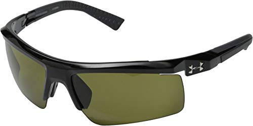 Under Armour Men's Core 2.0 Sunglasses Shiny Black / Game