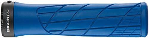 Bleu Clair Ergon Grips Technical-GA2 Fat Midsummer Blue Poign/ée v/élo Adulte Unisexe Taille Unique