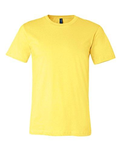 Bella + Canvas Unisex Short Sleeve Jersey T-Shirt, Yellow, XX-Large