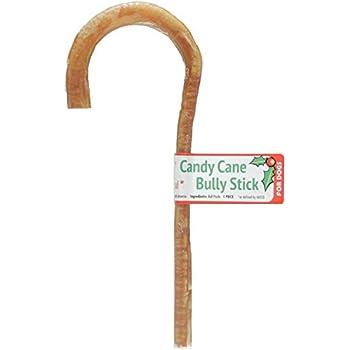 Amazon.com : GoGo Candy Cane Bully Sticks, Christmas Dog