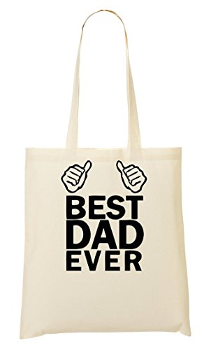 Best Dad Ever Handbag Shopping Bag