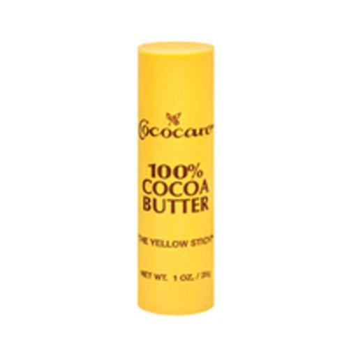 (Cococare Coco Cocoa Butter Stick, Stock 100% (1 oz, 5 ct) )
